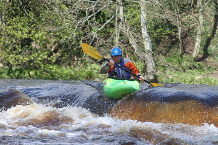 Whitewater Teesdale Developer course