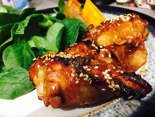 Sticky Chicken Teriyaki