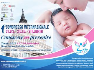 """""""I° Congresso Internazionale SIDS,SUID e stillbirth : Conoscere per prevenire"""""""
