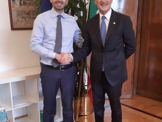 COMUNICATO STAMPA: Oggi l'incontro tra il Presidente FIMP Paolo Biasci e il Ministro della Salute Ro
