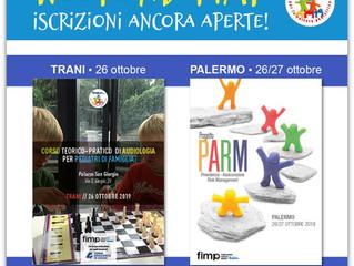 Weekend FIMP: Trani - Palermo