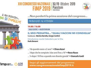 XIII CONGRESSO NAZIONALE FIMP  Paestum 16-19 ottobre 2019
