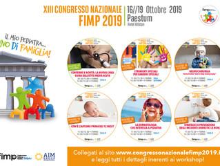 XIII Congresso Nazionale Scientifico FIMP 2019