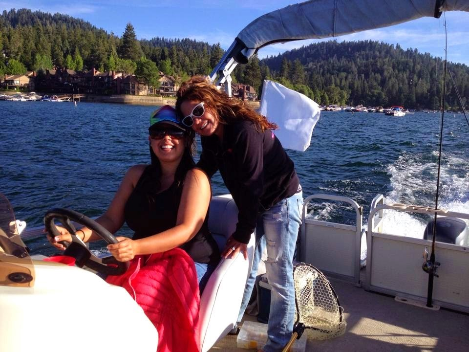 Boating on Lake Arrowhead