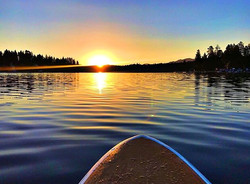 Kayaking on Lake Arrowhead, CA