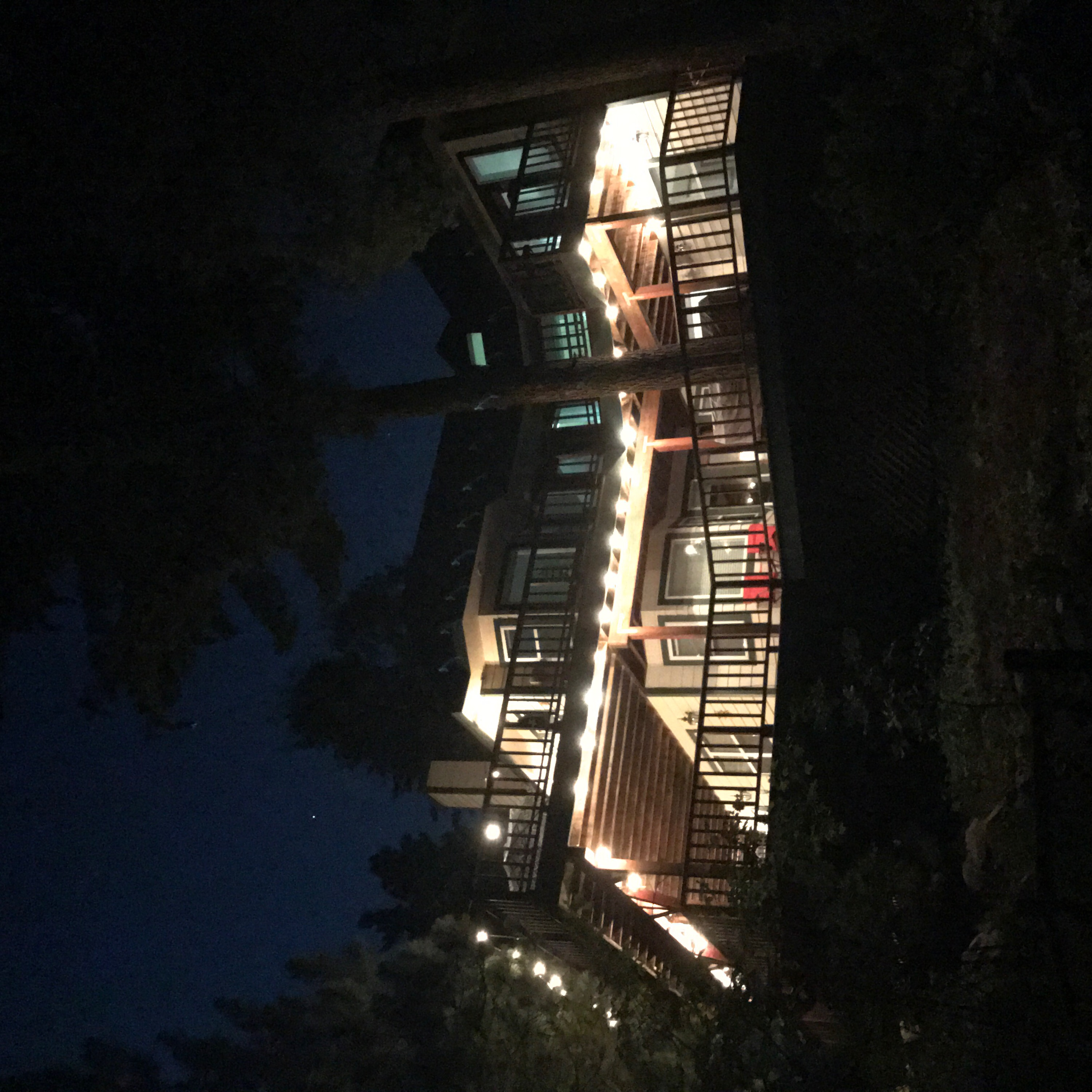 Night View of the Lodge