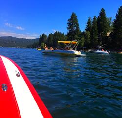 Boating on Lake Arrowhead