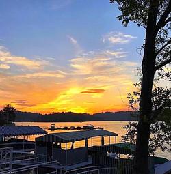 Lake Arrowhead Sunset