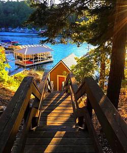 Lake Arrowhead Deck View