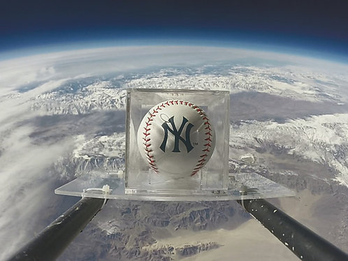 Yankees Space Baseball