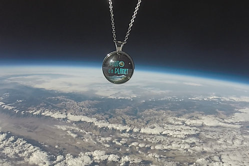 """""""Pluto is a Planet"""" Space Pendant"""