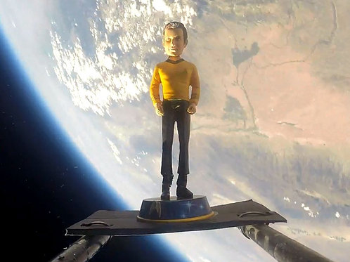 Capt. Kirk Bobblehead (Collector's Item)