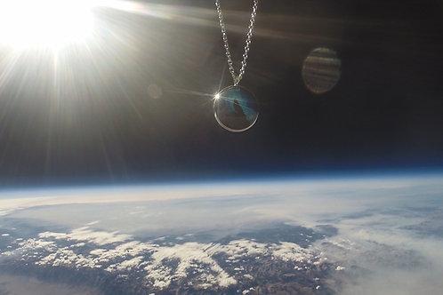 Blue Aurora Space Pendant