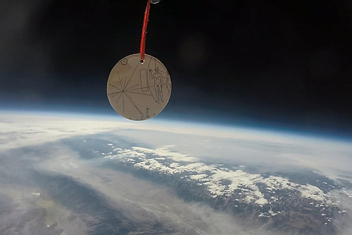 Pioneer 10 Christmas Ornament