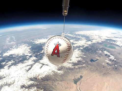 Angels Space Baseball