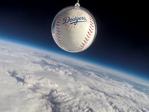 Dodgers Space Baseball