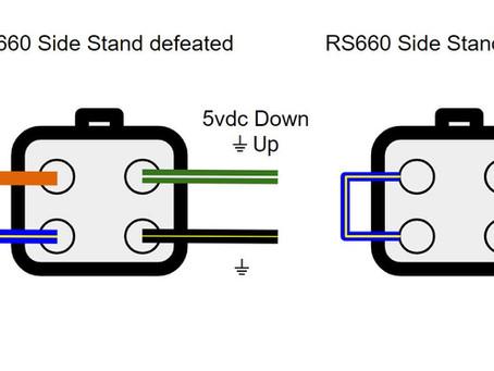 Aprilia RS660 Kick Stand Elimination