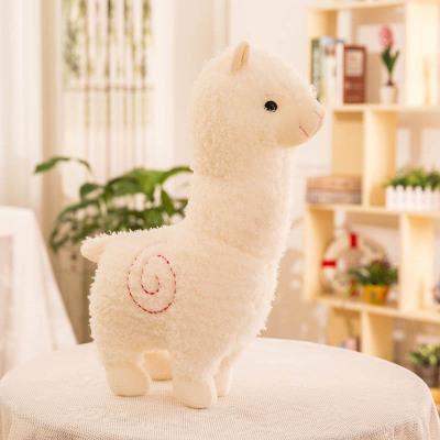 Lovely 11 inch Cartoon Alpaca Plush Doll Toy