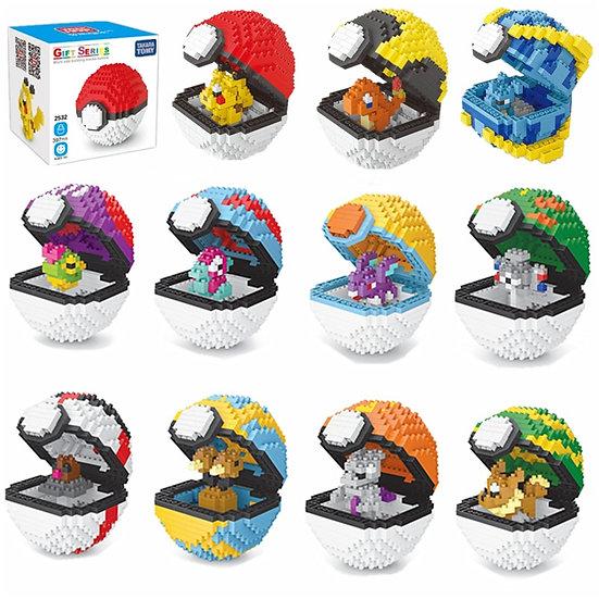 Pokemon  Blocks  Pikachu Toys