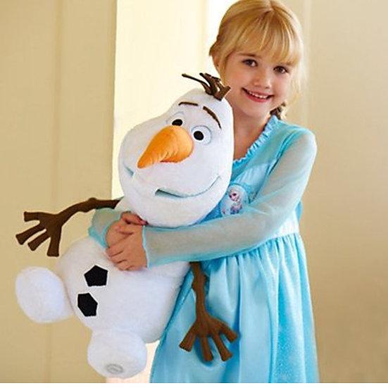 Disney 12/16/18/20 inch Frozen Olaf Plush Toy also Fire Lizard, Elsa and Anna