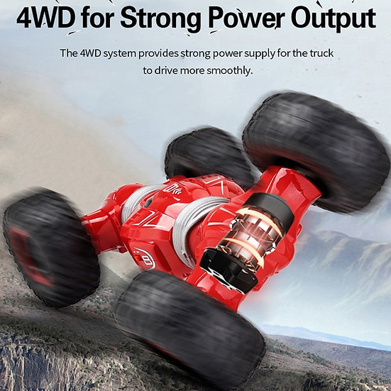 Car Radio Control 2.4GHz 4WD Twist- Desert Car Off Road High Speed Climbing car