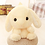 Thumbnail: 20 inch Cute  Rabbit Shoulder Furry  Plush Bags Girls Birthday Gifts