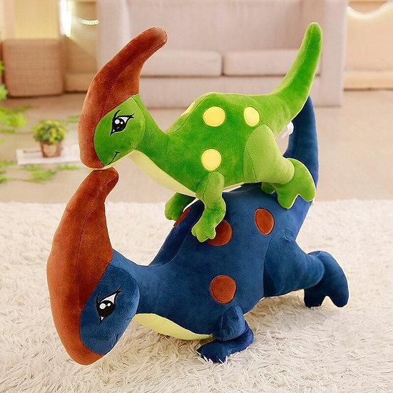 1pc 22 inch Cute Dinosaur Plush Toys Parasaurolophus