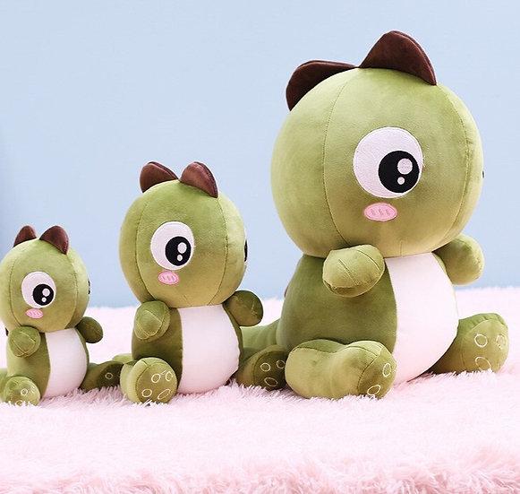 11/15/22 inch Cute Big Eyes Dinosaur Plush  Stuffed Toy for Kids