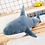 Thumbnail: Giant Shark Plush Stuffed Toy Soft Animal for Christmas  Gift for Kids