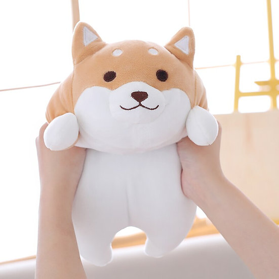 14/22 inch Cute Shiba Inu Dog Plush Toy Lovely Gift for Kids ,Baby ,Children