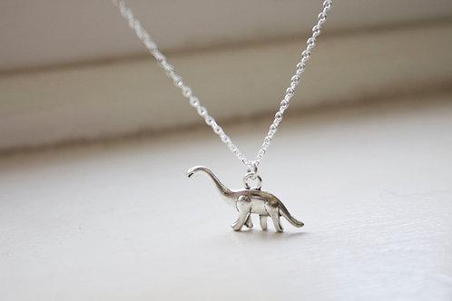 Dinosaur Charm Necklace - Diplodocus