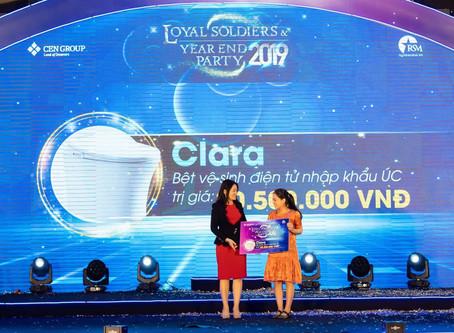 Clara hân hạnh tài trợ sự kiện tổng kết CenGroup