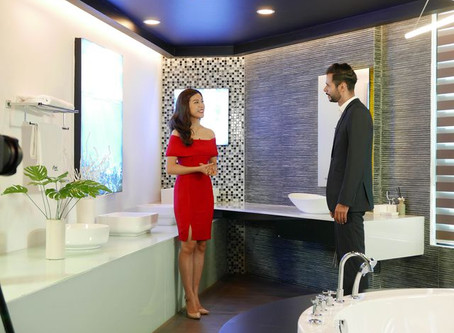 Trải nghiệm sự sang trọng và đẳng cấp của thiết bị vệ sinh cao cấp Clara cùng Chad Winston