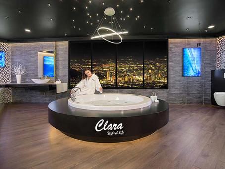 Giới thiệu bộ sưu tập Diamond cao cấp của thiết bị phòng tắm Clara