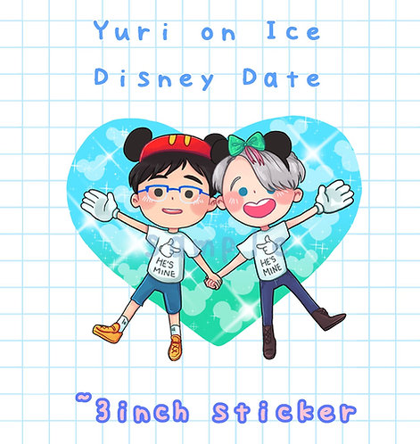 YOI: Victuri Disney Date Sticker