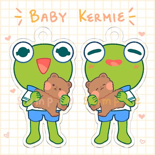 Baby Kermie Charm - 6cm
