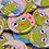 """Thumbnail: Positive Affirmations Kermie Buttons - 1.5"""""""