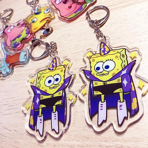 "Spongebob Goofy Goober - 2.5"" Charm"