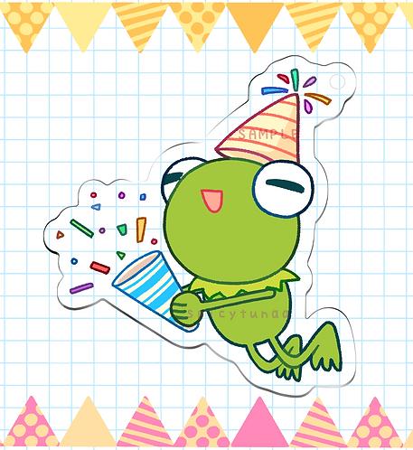 "Celebrate!! Kermie Charm - 2.5"""