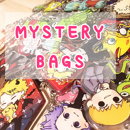Mystery Lucky Bag! - Random Merch + BNHA Pouch