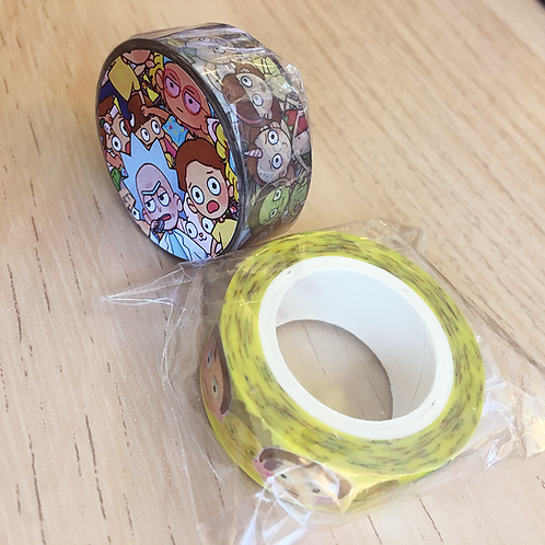 Washi Tape - Rick & Morty: Pocket Mortys