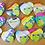 Thumbnail: Pride Kermie Heart Buttons