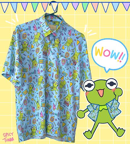 90s Kermie Button Down Shirt