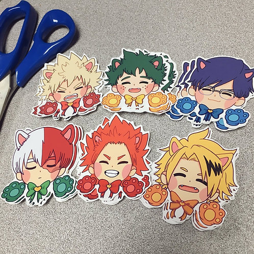 BNHA Cat - Stickers