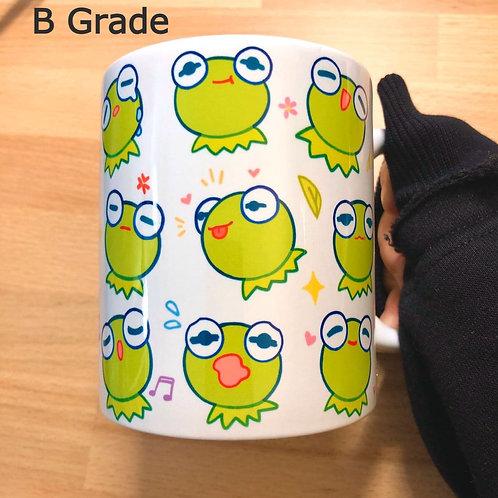 B Grade: Many Faces of Kermie 11oz Mug