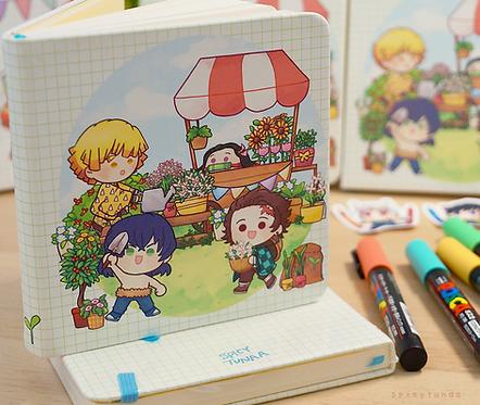 K N Y - Square Sketchbook