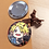 "Thumbnail: BNHA Oni Kiri & Kami 2.25"" Circle Pinback Button"