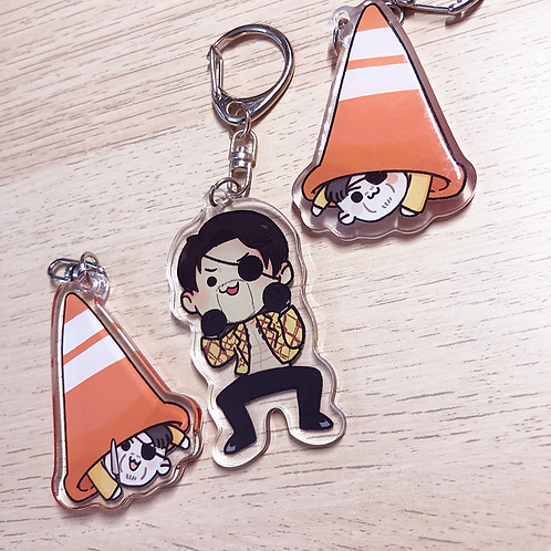 Majima - ~2in Charms