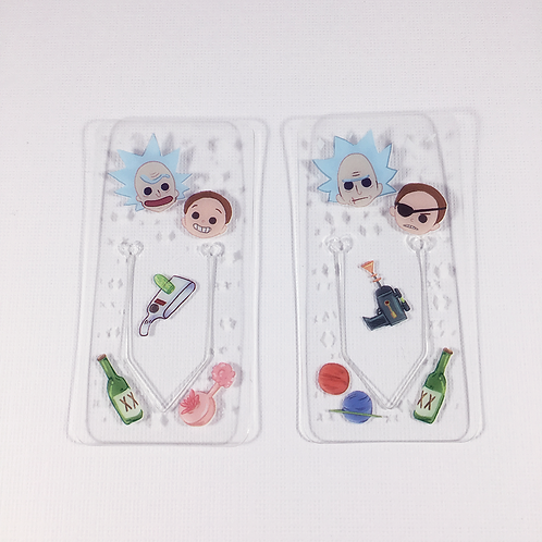 Rick and Morty - Clear Book Tabs