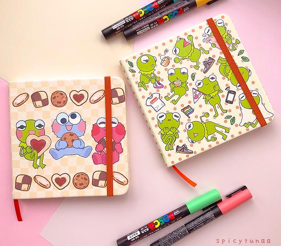Kermie - Square Sketchbooks